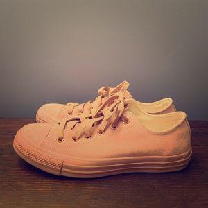 Mauve Suede Converse Sneakers
